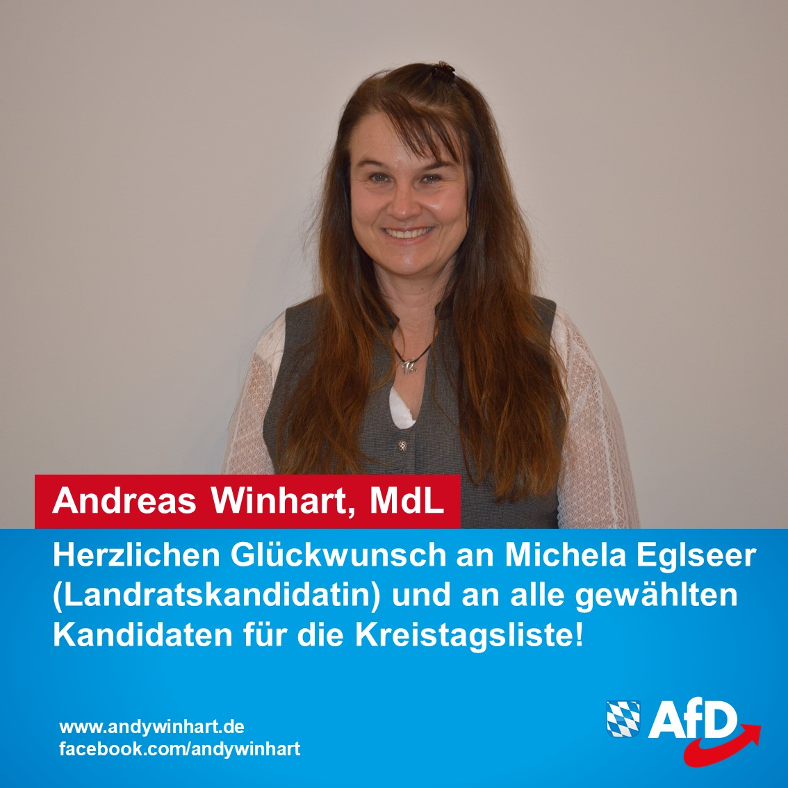 Mit Michaela Eglseer an der Spitze – Aufstellungsversammlung der AfD zum Landrat und Kreistag