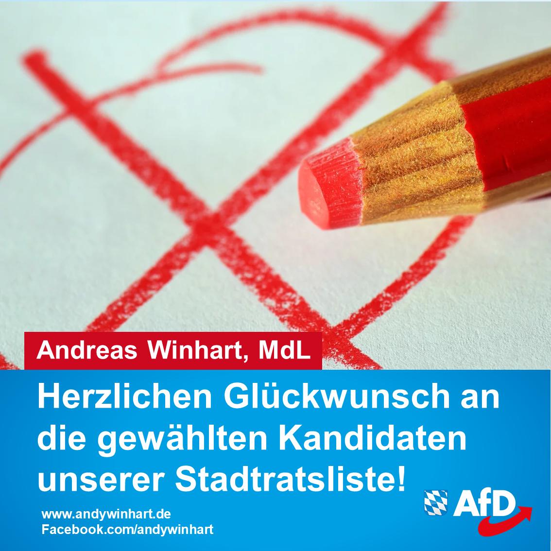 AfD will in den Stadtrat Rosenheim