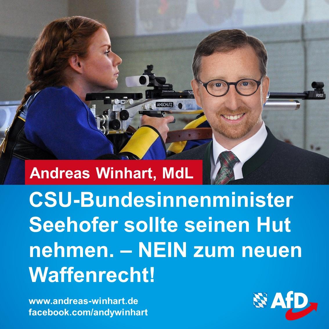 CSU-Bundesinnenminister Seehofer sollte seinen Hut nehmen!