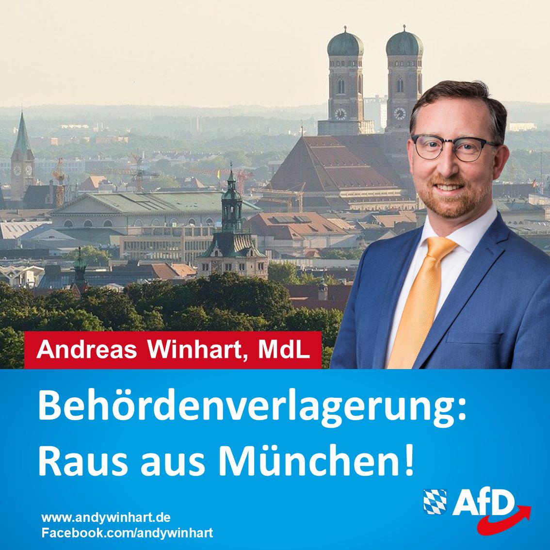 Andreas Winhart MdL begrüßt Behördenverlagerungen