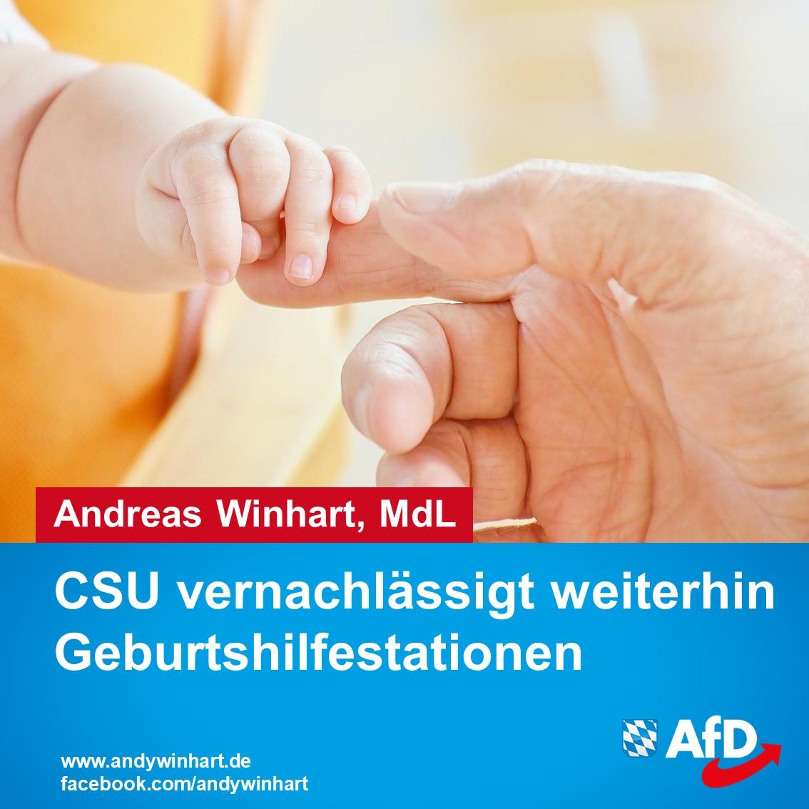 Stellungnahme von Andreas Winhart MdL zur Kritik der CSU an den RoMed Kliniken