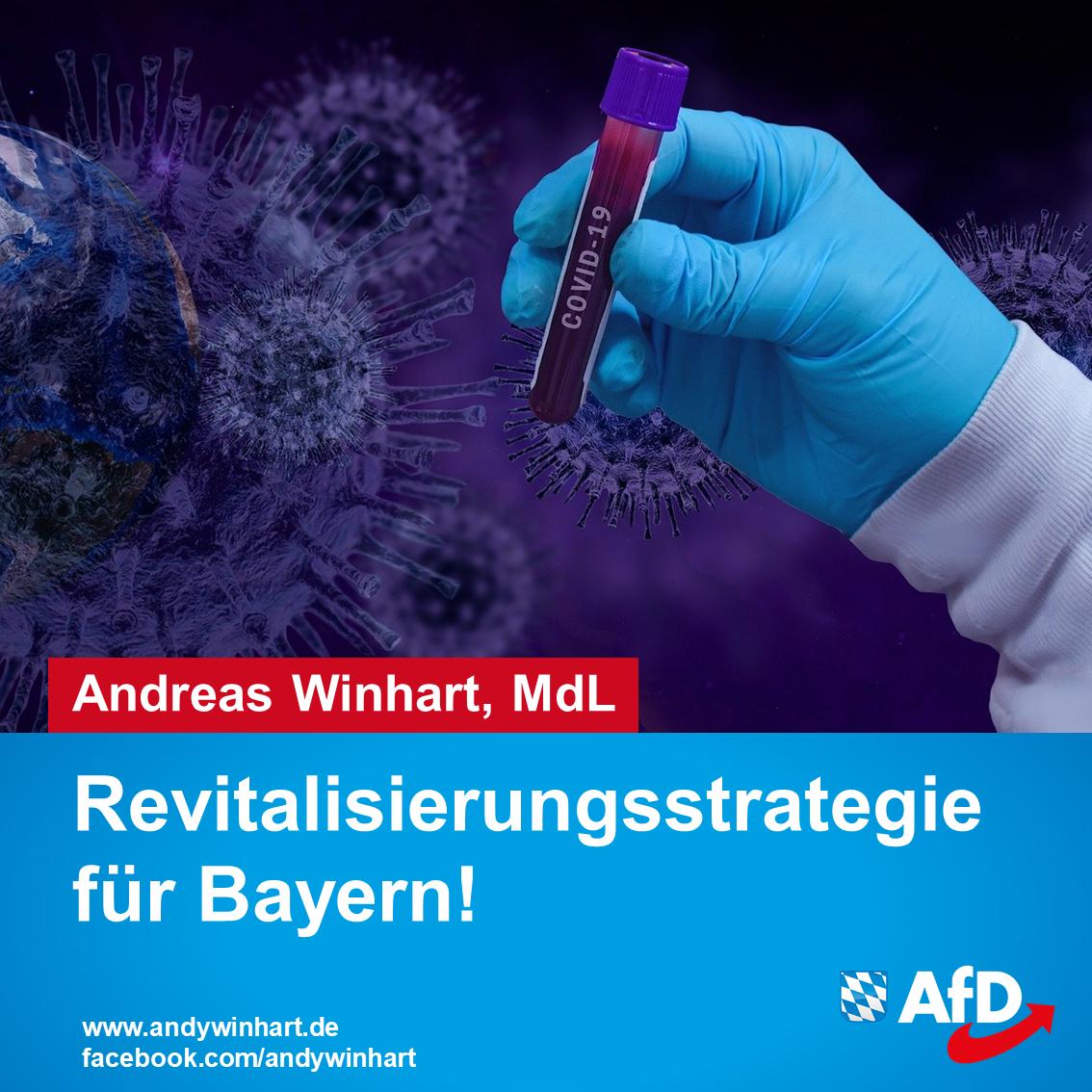 Ausgeweitete Corona-Tests sind unerlässlich – Revitalisierungsstrategie für Bayern muss kommen!