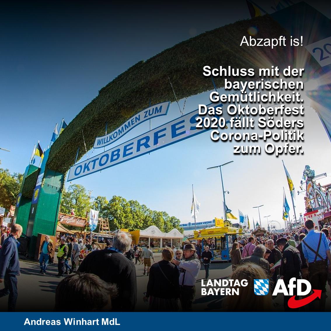 Nach Oktoberfestabsage, kleinere Feste ab September in Bayern ermöglichen! – Schausteller unterstützen