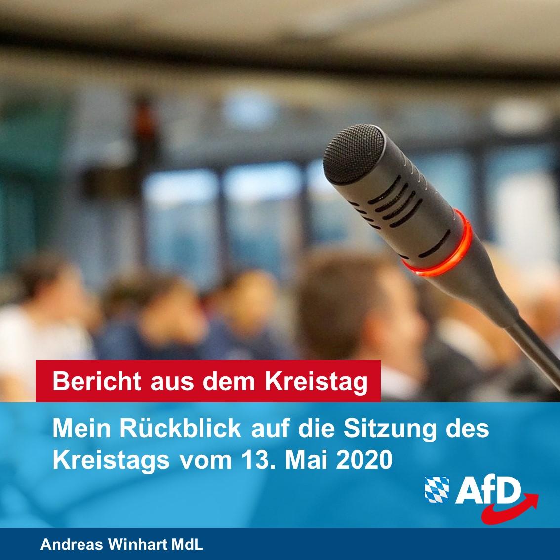 Die AfD ist jetzt auch im Kreistag Rosenheim vertreten!