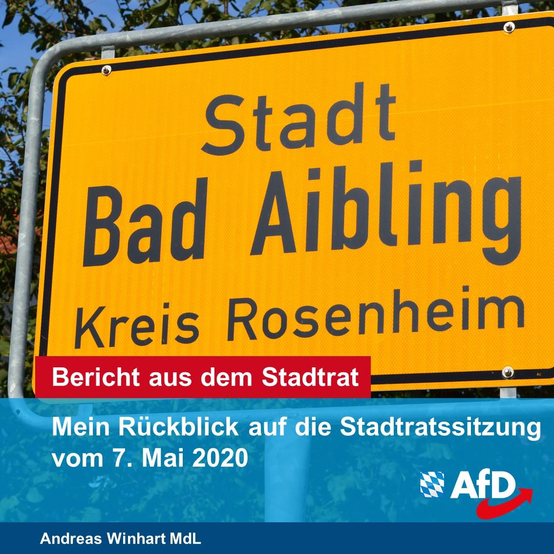 Die AfD ist im Stadtrat Bad Aibling angekommen!